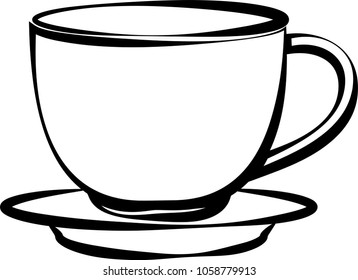 coffee cup clip art images stock photos vectors shutterstock rh shutterstock com coffee cup clipart doodle coffee cup clip art free