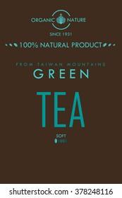 Tea cover design