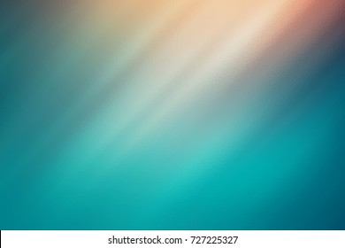Teal abstract glass texture background or pattern, creative design template with copyspace.