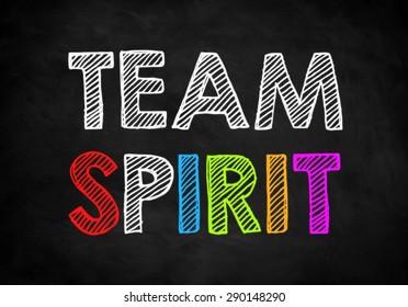 Team Spirit Images, Stock Photos & Vectors | Shutterstock