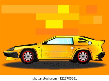 80s Sports Car Images, Stock Photos & Vectors | Shutterstock