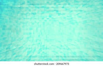 Technology blue squares background
