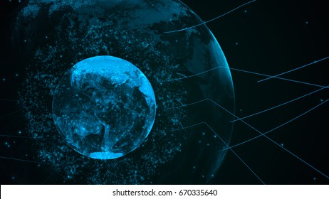 technology concept,abstract background