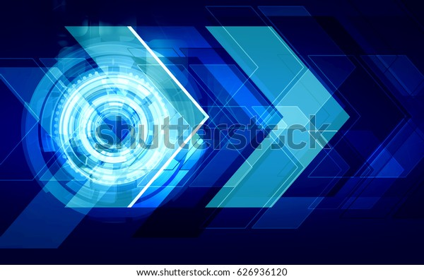 Technology futuristic background. Speed virtual information concept.