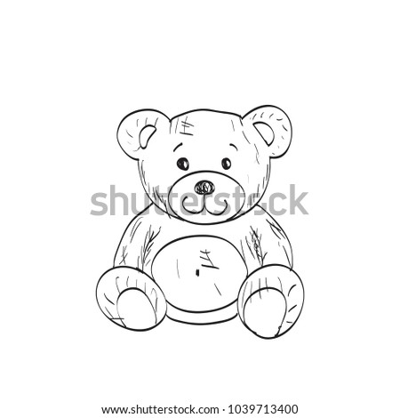 Teddy Bear Sketch Book Free Wiring Diagram For You