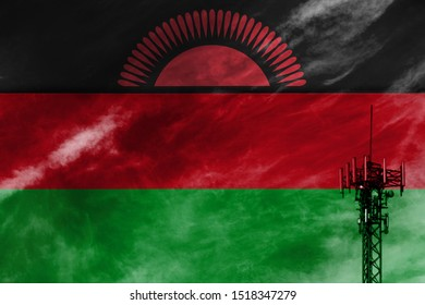 Telecommunications in countries with the flag of Malawi.