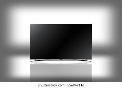 Television 3d illustration