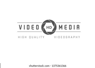Television emblem isolated on white background. Label, sign and logo tv.
