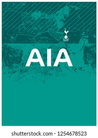 template tottenham for sublimation