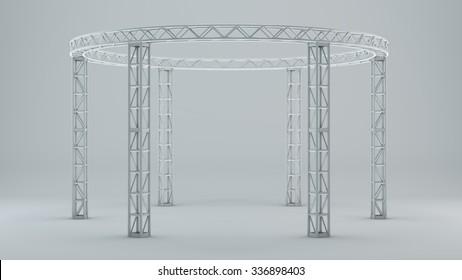 Template truss