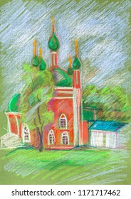 temple in Pereyaslavl-zalessky, ancient Russian town