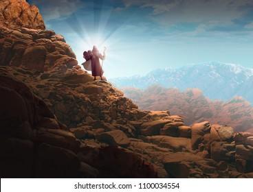 MOSES' TEN COMMANDMENTS