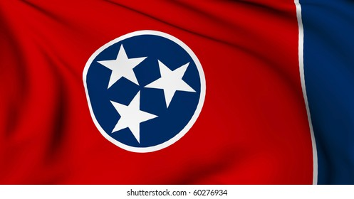 Tennessee flag - USA state flags collection