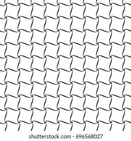 Tennis Net seamless pattern