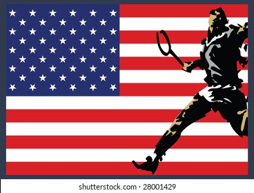 Tennis Player American