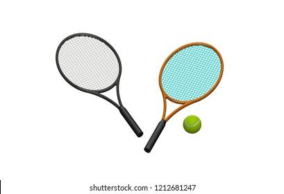 Hand Holding Tennis Racket Hitting Ball Stock Photo Edit Now