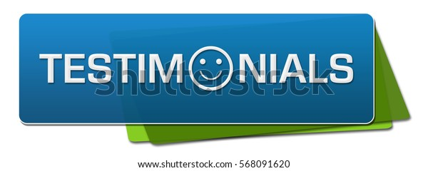 Testimonials Blue Green Horizontal