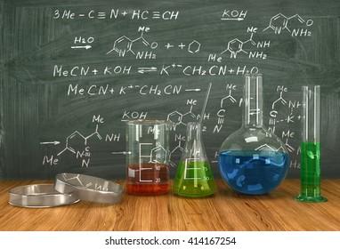 Chemistry Lab Equipment Images, Stock Photos & Vectors
