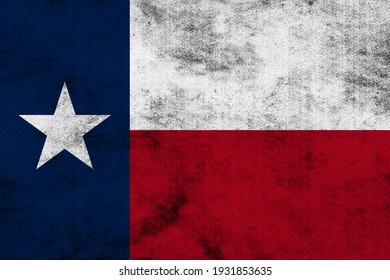 Texas flag background grunge style