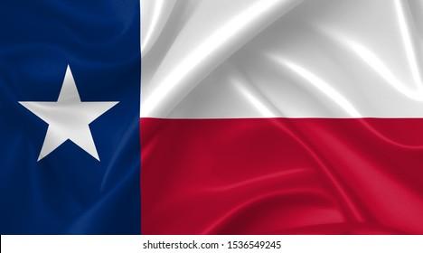 texas flag country symbol illustration