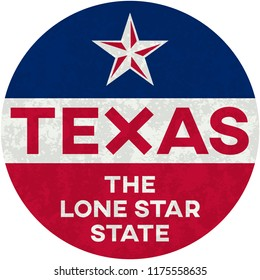 texas: the lone star state | digital badge