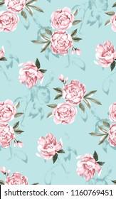 textile designs flower