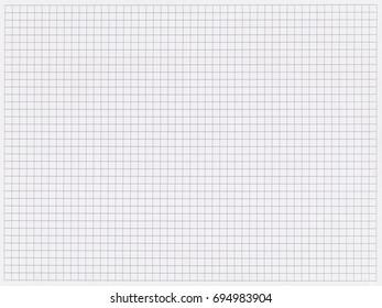 Texture background: blank sheet of a paper with a grid. Can be used as a template.