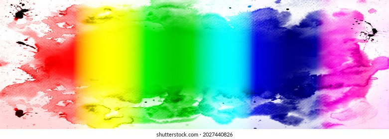 Texture or background in tinted rainbow colors