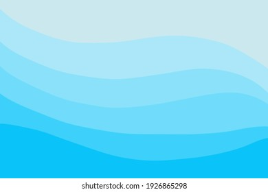 Texture of blue wavy shading background