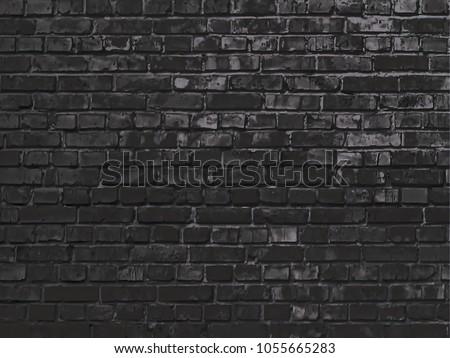 Texture Brick Wall Elegant Wallpaper Design Stockillustration