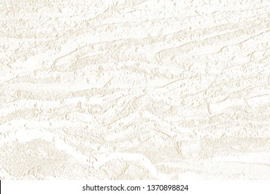 Texture of embossed root with brown background