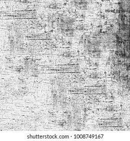 Texture grunge monochrome. Abstract black and white pattern of dust spots, cracks, lines, chips. Dark grunge background vintage old wall