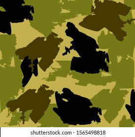 The texture of a military uniform. illustration.