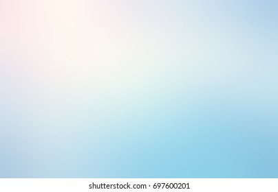 Texture pale blue sky blurred. Pink sunrise empty background. Fresh air abstract texture.