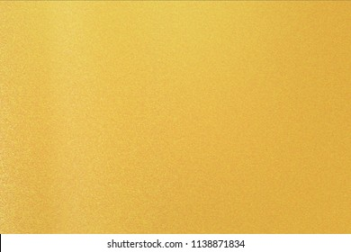 Texture of stains on gold metal, abstract background