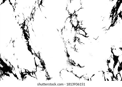 Texture for superimposing black lines, cracks, and scratches. Imitation of a marble surface. Aging of design projects.