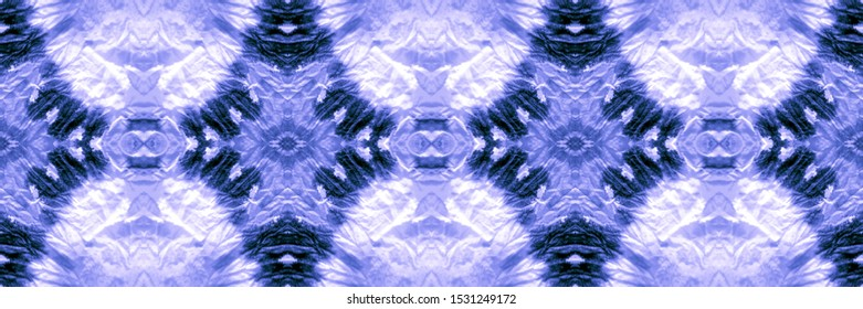 Texture Watercolour. Watercolor Design. Watercolor Wallpaper On Paper Texture. Xmas Azure, Indigo On Light. Pattern Acrylic. Abstract African Stylized Ornament.