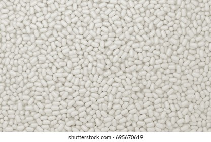 Texture of white sweets .3d render