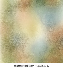 Textured  background in blue, beige and green
