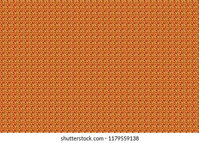 Textured fabric with woven orange and green threads.
