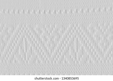 Textures of embossed woven fabric,pattern on woven fabric ,