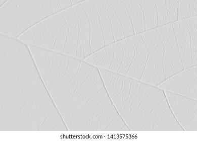 Textures of leaf ,embossed grey leaf ,earth tone