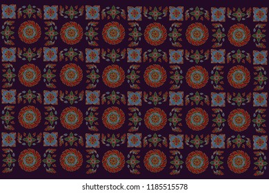 Thai Traditional Whell pattern
