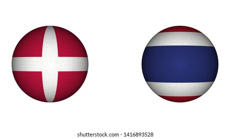 Denmark and Thailand Images, Stock Photos & Vectors