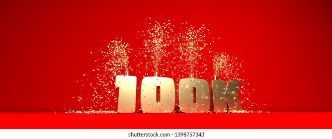 thank you card for 100K followers
