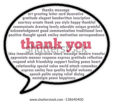 word of thanks speech