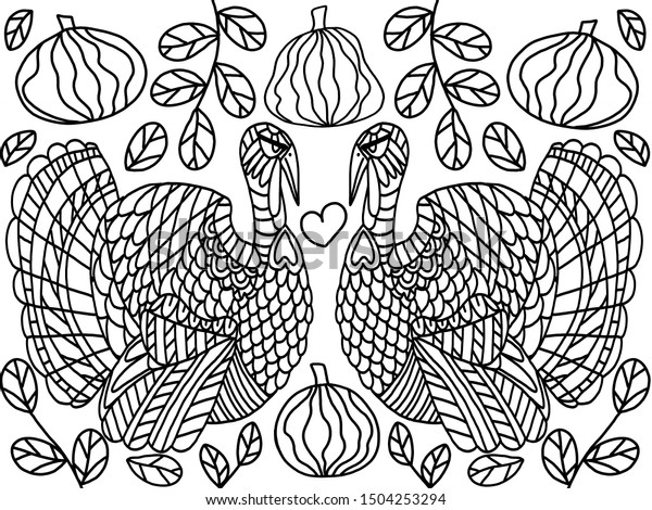 23+ Amazing Picture of Thanksgiving Turkey Coloring Pages ... | 470x600