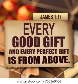 Thanksgiving James 1:17