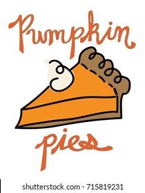 Thanksgiving Pumpkin Pies