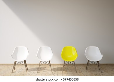 Royalty Free Vier Stühle Modern Stock Images Photos